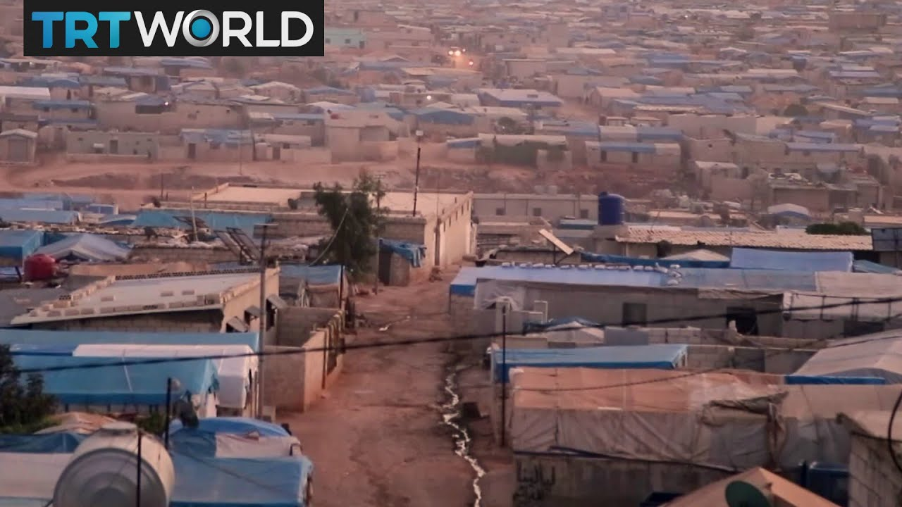 The War in Syria: Almost half of Syria's population displaced