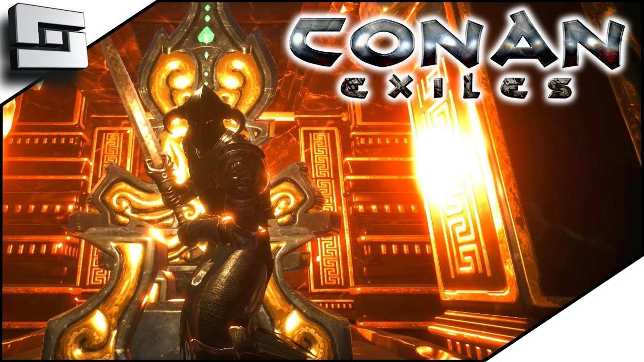 Conan Exiles - Black Hand Unique Armour by Sclerohouse