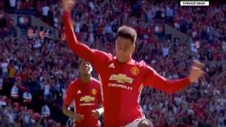 Manchester United Vs Leicester City 2 1 All Goals And Highlights  2016