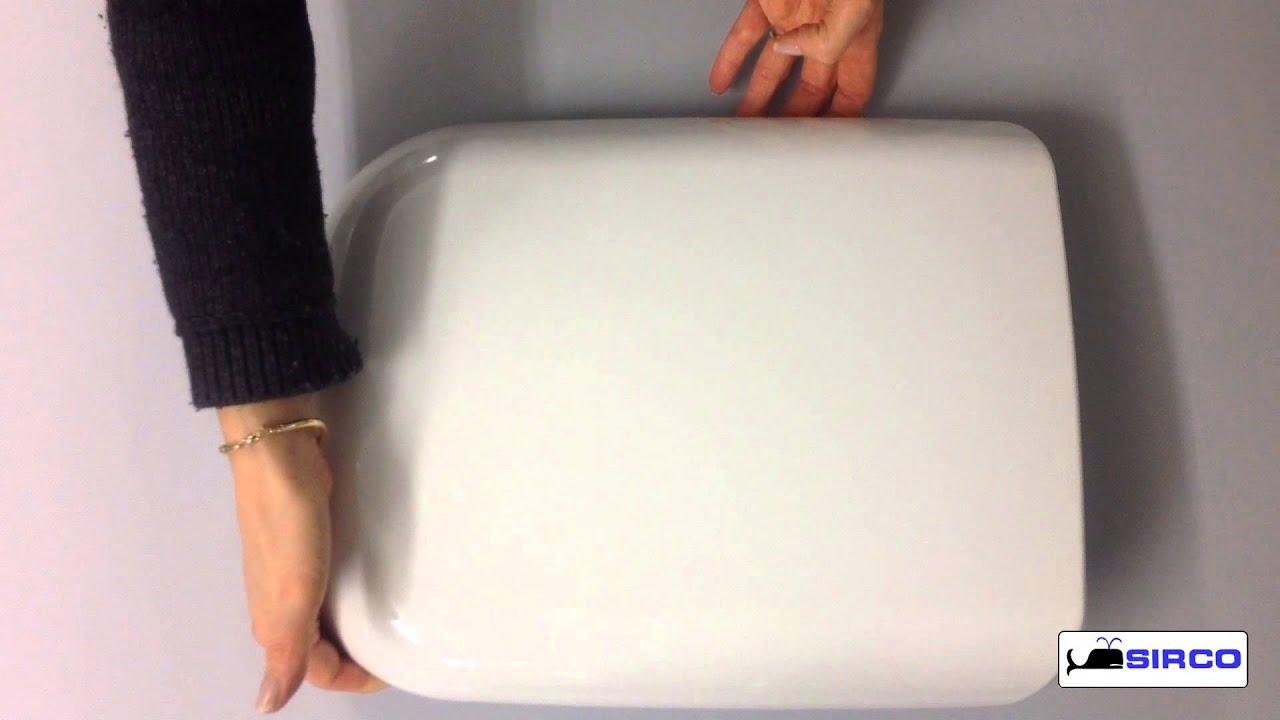 Sedile Avvolgente Ideal Standard Serie Conca Colore Bianco Europeo