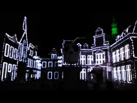 Nagasaki Huis Ten Bosch - Thriller Fantasy Museum - Special illumination