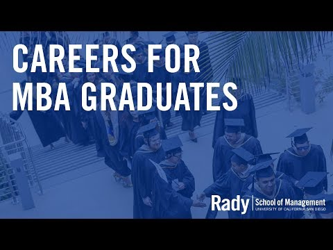 Careers for MBA Graduates