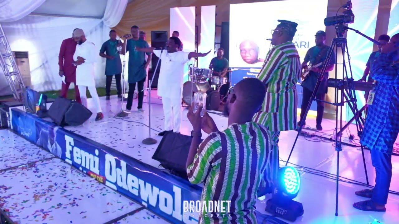 Download MC OBAMA MIMIC ,YINKA AYEFELE, KING WASIU AYINDE, KING SUNNY ADE AND ABASS OBESERE ON STAGE