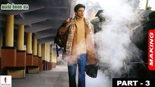 Main Hoon Na   Making   Shah Rukh Khan as Ram Sharma & Producer   A film by Farah Khan