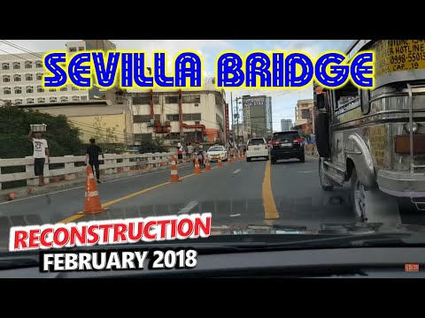Sevilla Bridge Rehabilitation Update 1 🚗 Sta Mesa, Manila to Libis, Quezon City 🚗 City Tour