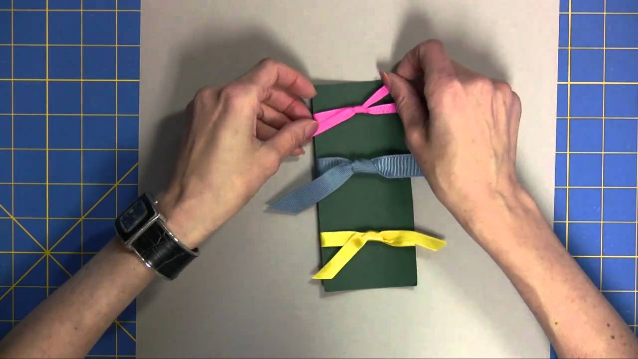 Uncategorized Easy Way To Tie A Bow With Ribbon quick and easy ways to tie ribbon youtube