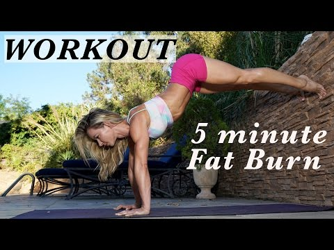5 Minute Fat Burning Not a Bikini Workout #84