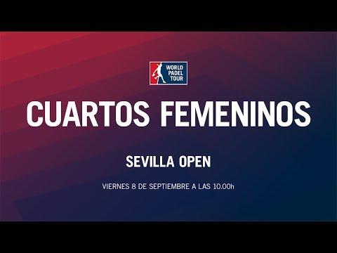 Cuartos de Final Femeninos Sevilla Open 2017   World Padel Tour