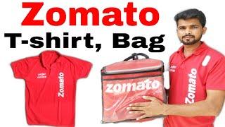 How to get Zomato bag and t-shirt || Zomato t-shirt, Zomato bag कब मिलता है  | Technic Shreemanji