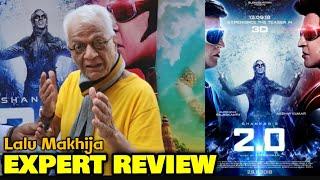 Lalu Makhija EXPERT REVIEW On 2.0 Movie (3D) | Rajinikanth, Akshay Kumar | Shankar