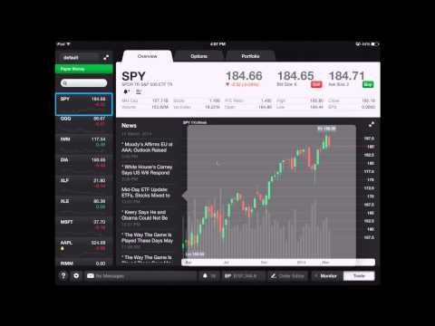 ThinkOrSwim Mobile For Ipad Overview