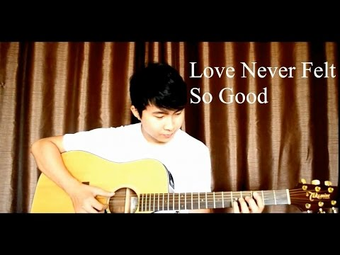 Michael Jackson - Love Never Felt So Good (Fingerstyle cover by Jorell)