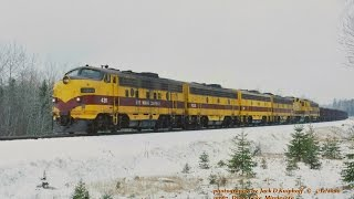 Download Video EMD F-units in the snow. LTV loads and empties between Cramer and the lake 4/2000 MP3 3GP MP4