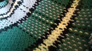 How to Crochet an Afghan: Tartan / Plaid Afghan