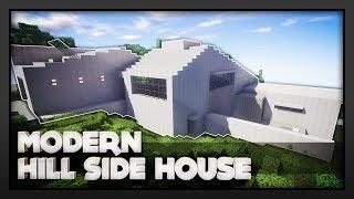Minecraft - Modern Hillside House