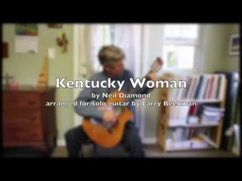Kentucky Woman, for solo guitar