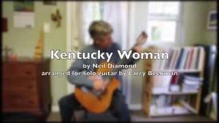 Kentucky Woman, for solo guitar