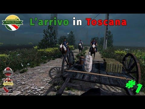 BACK TO ITALY - #1 L' ARRIVO IN TOSCANA DA ZIO LUIGI | FARMING SIMULATOR 17