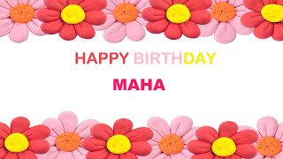 Maha   Birthday Postcards & Postales - Happy Birthday