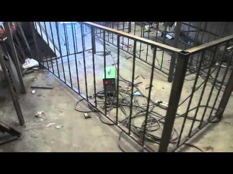Перила 113  Уличные ограждения из металла кованый балкон фото Днепропетровск Днепр