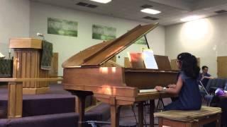 Download Hindi Video Songs - Nivi's Piano Recital 2015 - Amma Amma Song