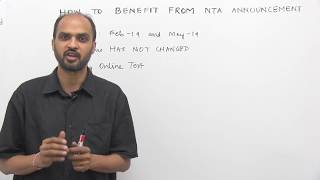 HOW to BENEFIT from NTA Announcement on NEET: Call at 8527521718 & start preparing NOW