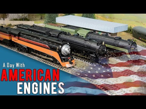 A Day With USA Steam Trains
