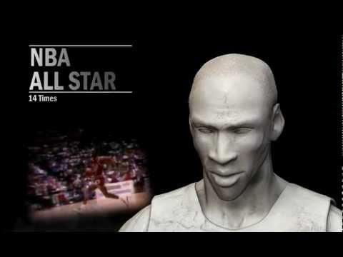 Statue of Legends - Michael Jordan 3Ds Max