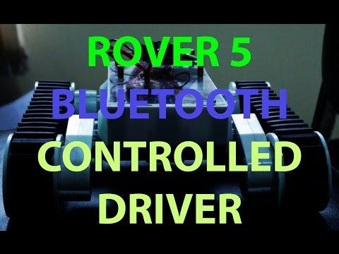 Rover 5 Bluetooth Driver - With HC-06, L293D, Arduino Pro Mini