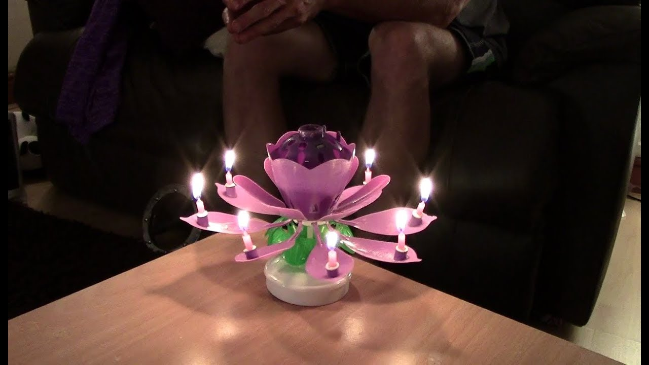 Chinese birthday 8 candle flower youtube chinese birthday 8 candle flower izmirmasajfo