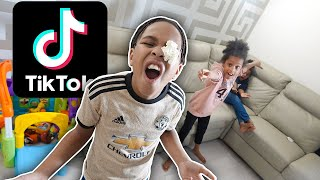 FAMILY TRY IMPOSSIBLE TIK TOK CHALLENGES