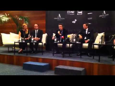 Bryan Ferry Dubrovnik Excelsior Press Conference