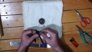 Homemade 6 inch Buffing Polishing Wheel
