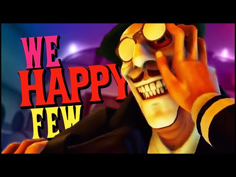CREEPY CLOWN DUNGEON! | We Happy Few Funny Moments |