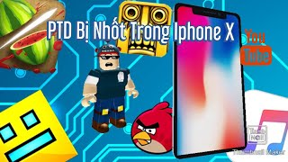 Roblox:PTD Gamer Bị Nhốt Trong iPhone X :Escape The iPhone X !!