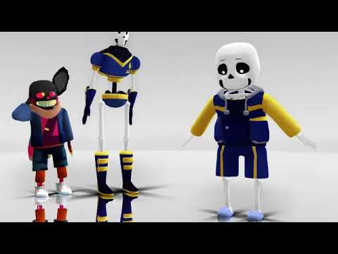 MMD- Outertale Sans Inflation