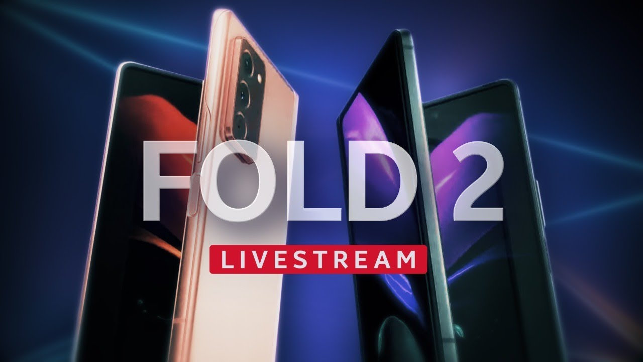 Samsung's Z Fold 2 LIVE in-depth reveal event (Galaxy Unpacked Part 2)