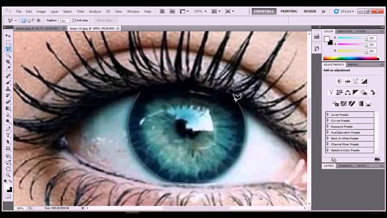 Photoshop red eye fix cs5