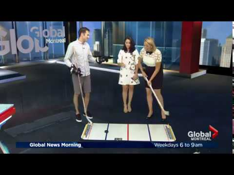 SuperDeker on Global News Montreal Morning Show