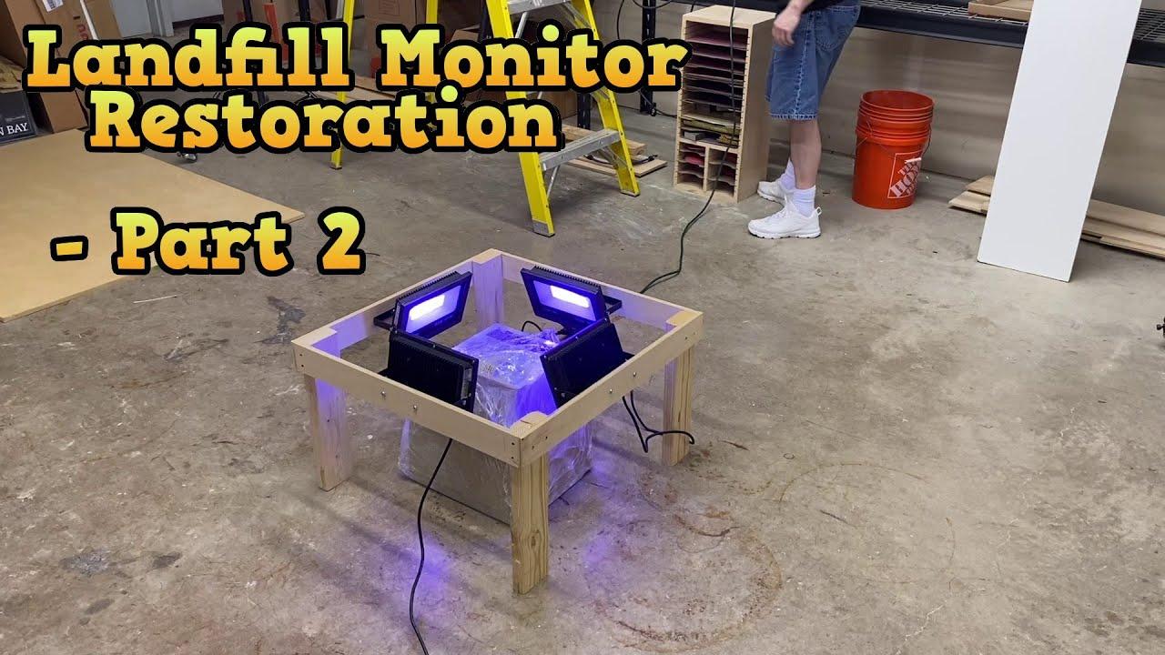 Landfill Monitor Restoration - Part 2