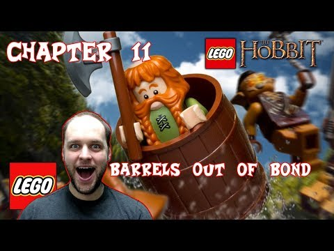 Lego The Hobbit Chapter 11: Barrels Out of Bond - Full Episode Gameplay Playthrough