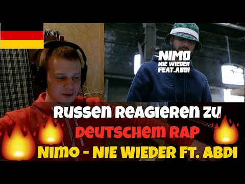 RUSSIANS REACT TO GERMAN RAP | Nimo - NIE WIEDER feat. Abdi | REACTION TO GERMAN RAP