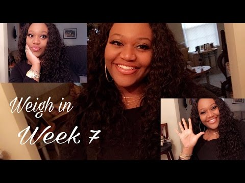 week 7 weigh in! intermittent fasting results! Extreme weight loss journey