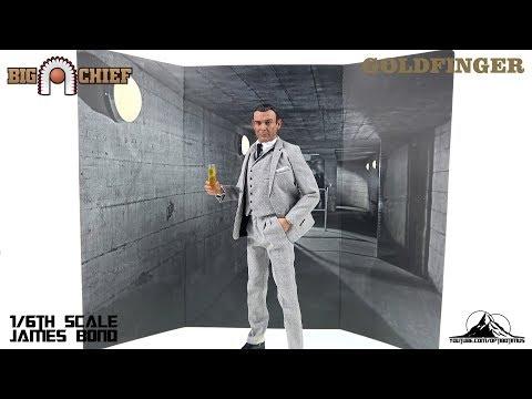 Optibotimus Reviews:  Big Chief Studios 007 Goldfinger JAMES BOND