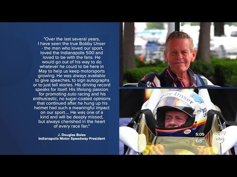 3-time Indy 500 winner Bobby Unser dies at age 87
