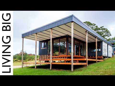 Shipping Container Home Designed For Sustainable Family Living