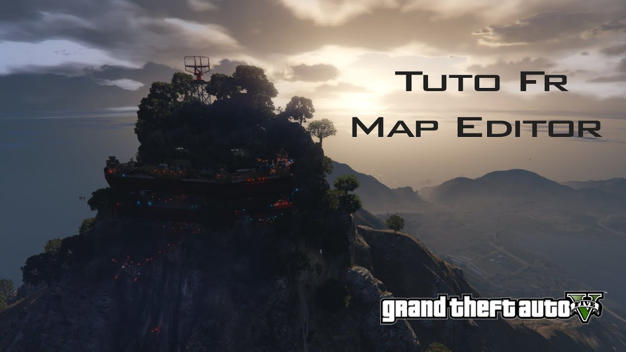 how to open gta v map editor
