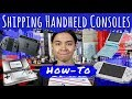 How To Ship Handheld/Portable Video Game Consoles (Switch, Gameboy Advance, PSP)