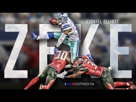 """Ezekiel Elliott Mix - """"RAF / Go Flex"""" (2016 Dallas Cowboys Highlights)"""