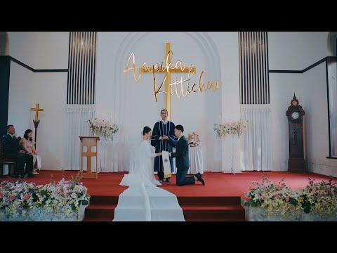AUM & YO - พิธีแต่งงานแบบคริสเตียน 21.01.2021 #SANGDEE